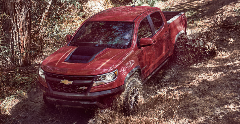 Chevy is Developing a Commercial Utility Version of the Colorado ZR2 Pickup