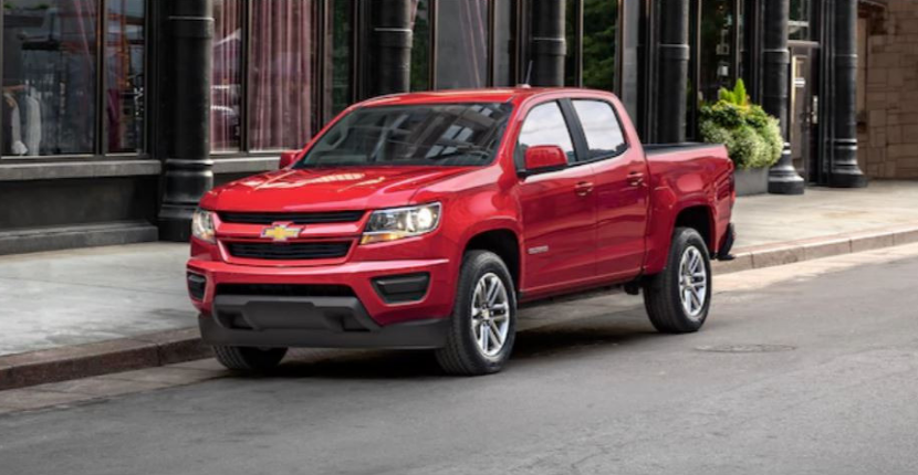 2019 Chevy Colorado Exterior Color Options