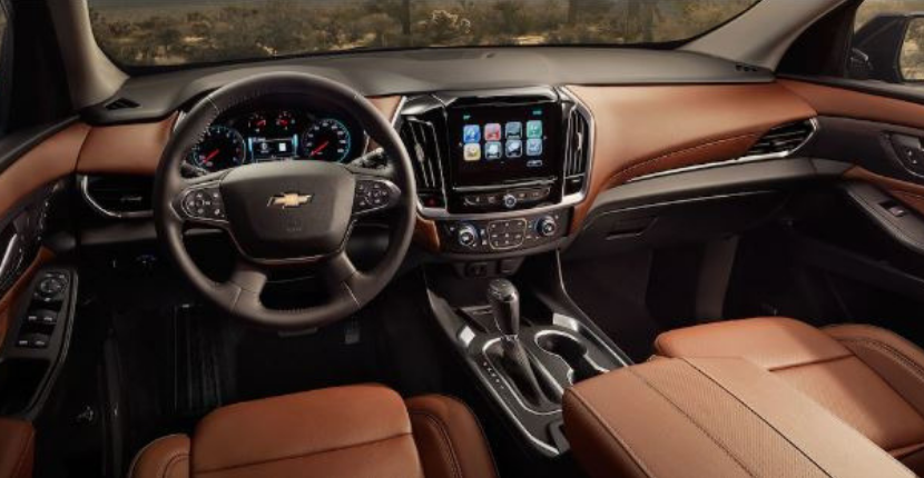 2019 chevy traverse interior