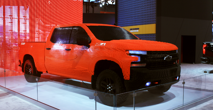 "The 2019 Chevrolet Silverado Will Be Featured in ""The Lego Movie 2: The Second Part"""
