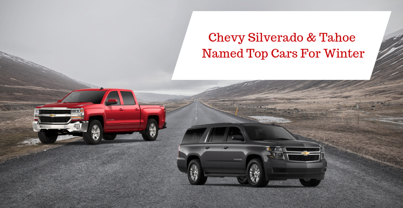 Chevy Silverado & Tahoe Named Top Cars for Winter