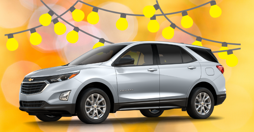 Allow the New 2019 Chevy Equinox to Light Up Your Spring