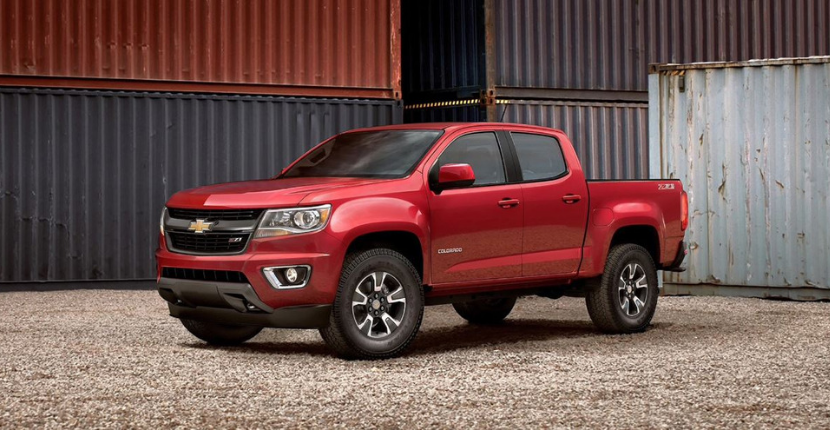 2019 Chevy Colorado Trim Options