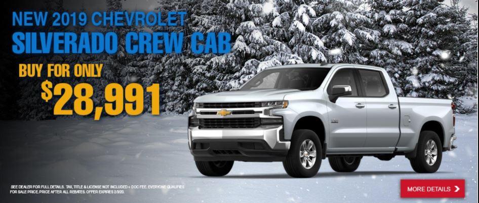 New 2020 Chevy Silverado