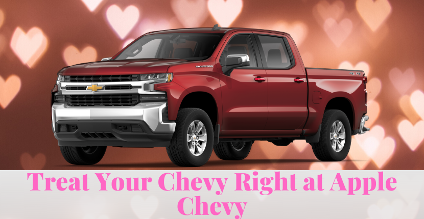 Show Your Chevy Some Love at Apple Chevy this February