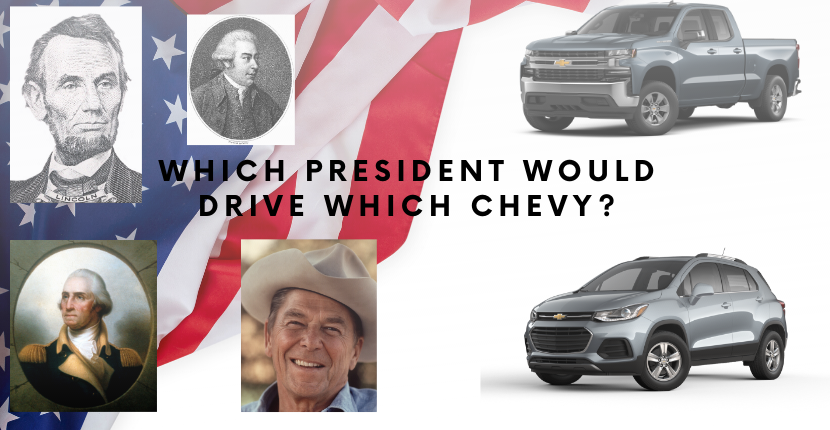 Which President Would Drive Which Chevy?