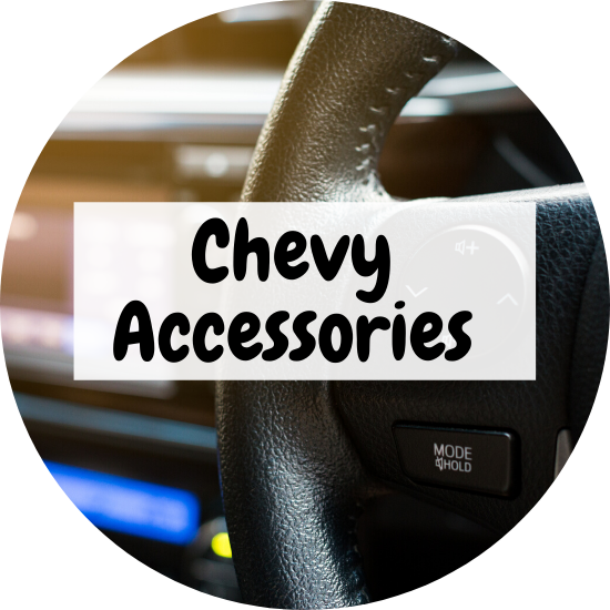 For all your Chevy auto accessories needs, head over to Apple Chevrolet in Tinley Park!