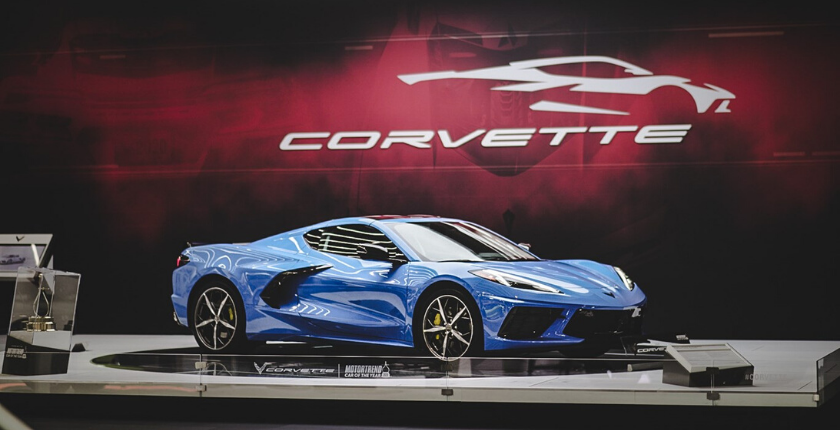 2020 Corvette at the 2020 Chicago Auto Show