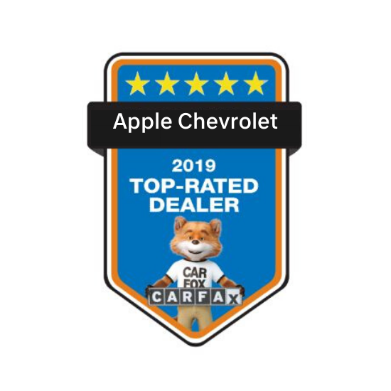 Apple Chevrolet honored to win CarFax Top-Dealer Award