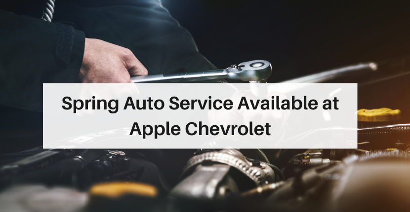 Schedule your next auto service at Apple Chevrolet Tinley Park