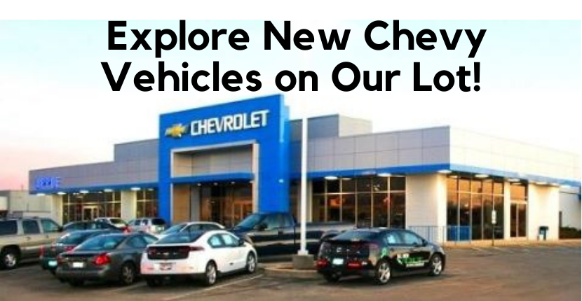 Check out some of the new Chevy vehicles on our lots here at Apple Chevy Tinley Park!