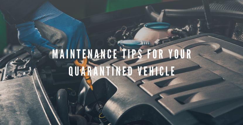Mechanics Hammer Home: Don't Quarantine Your Vehicle