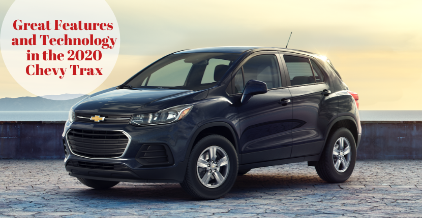 Great Features and Technology in the 2020 Chevy Trax