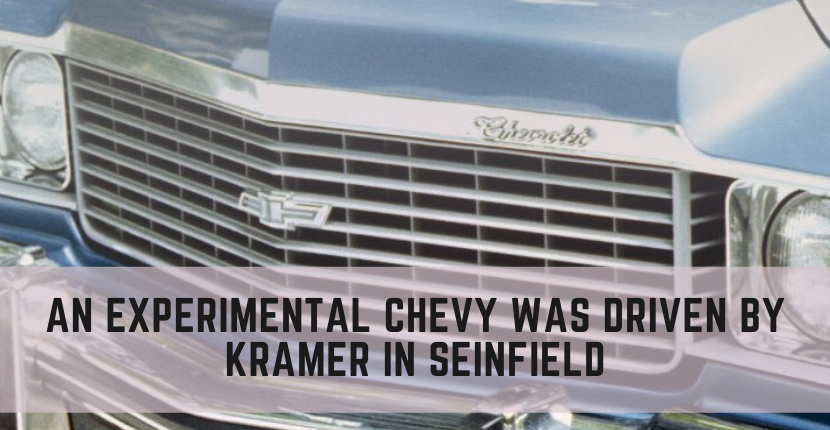 "Kramer Drove an Experimental Chevy Impala on ""Seinfeld"""