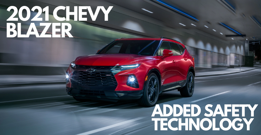 Chevy Blazer Adds Safety Technology Features for 2021 Model
