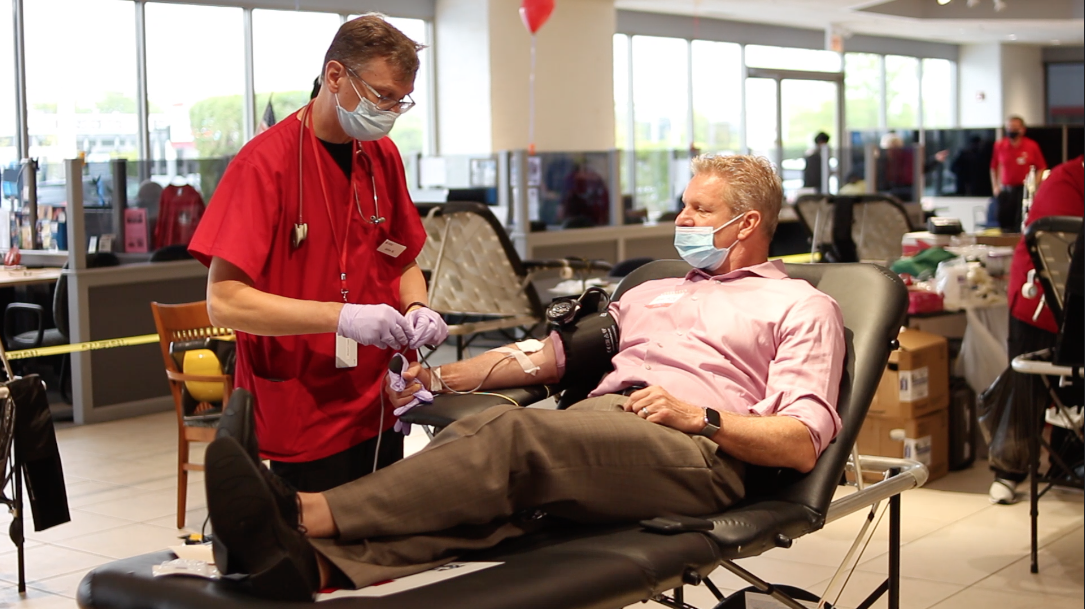 Apple Chevy Blood Drive Recap