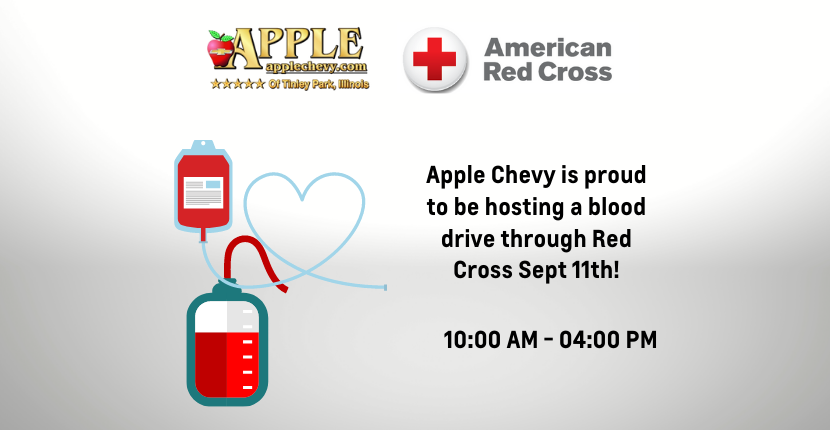 Apple Chevy Makes a Difference with Blood Drive