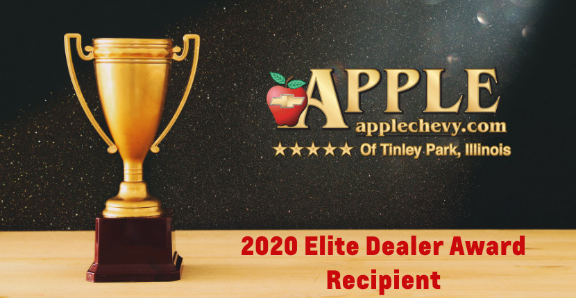 Apple Chevy 2020 Elite Dealer Award