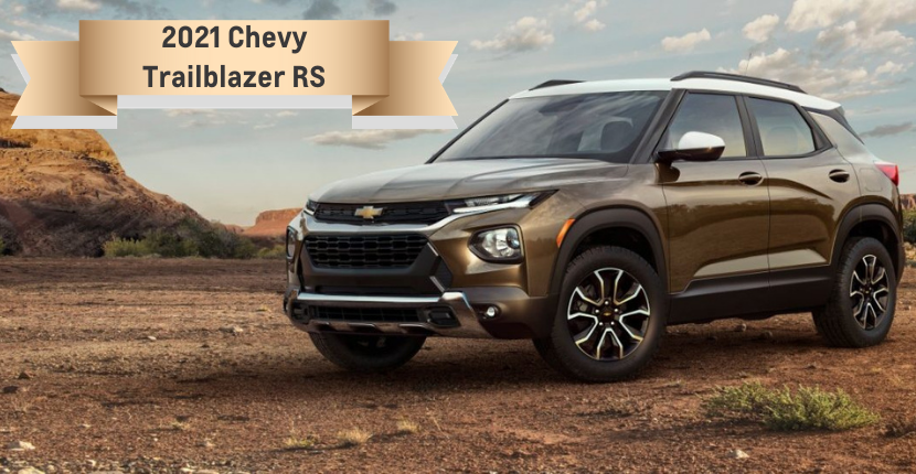 2021 Chevy Trailblazer RS