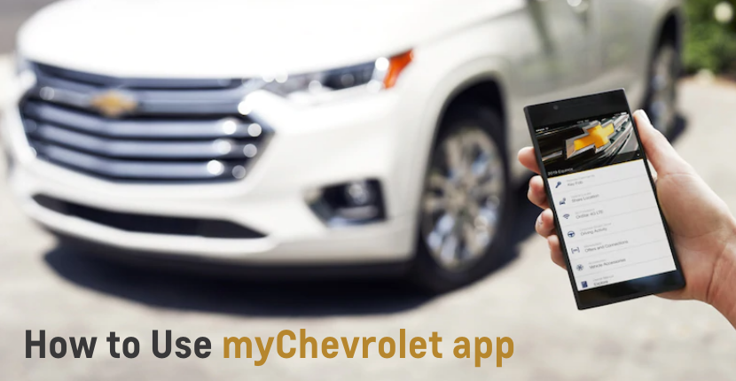 How to Use myChevrolet App
