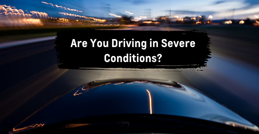 Do You Know if You're Driving in Severe Conditions?