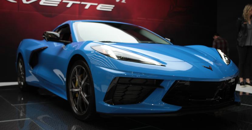 2020 Chicago Auto Show Corvette