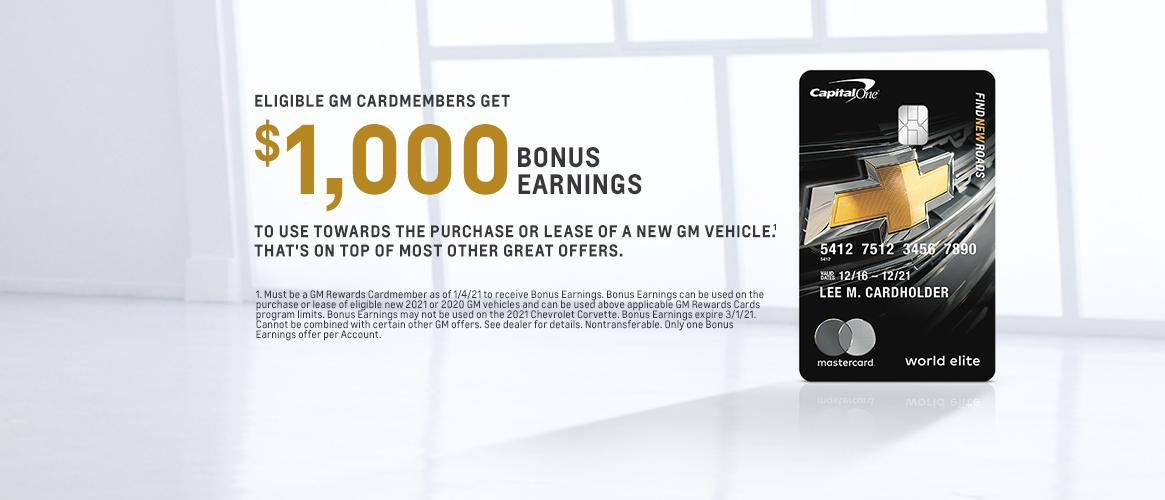 GM card points