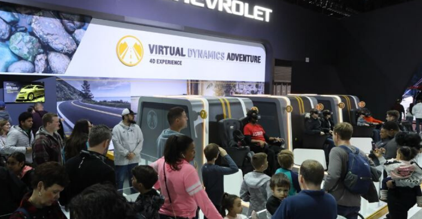 2020 Chicago Auto Show Chevy Interactive DIsplay