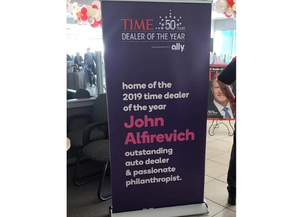 Dealer of the Year Award Winner