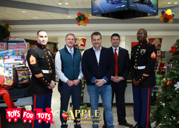 Apple Chevy Toys for Toys Toy Drive