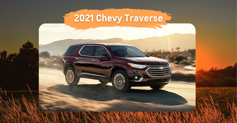 New Season = Time for a New Chevy Traverse
