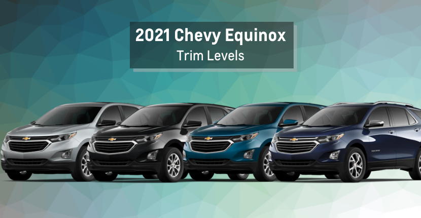 Difference between Equinox trim levels
