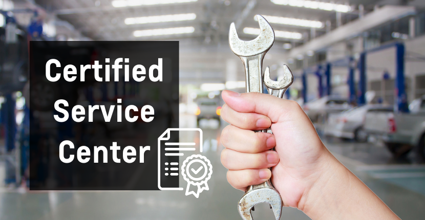 Time To Stop by Our Certified Service Center!