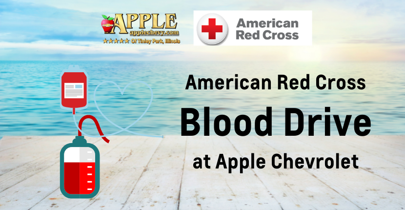 Summer Full of Life Blood Drive at Apple Chevrolet