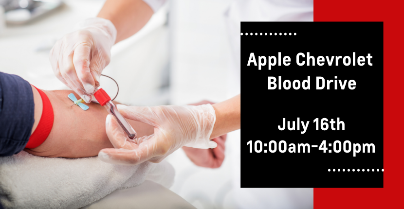 Blood Drive Coming Up!