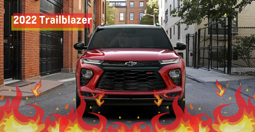 2022 Chevy Trailblazer Is Coming In Hot!