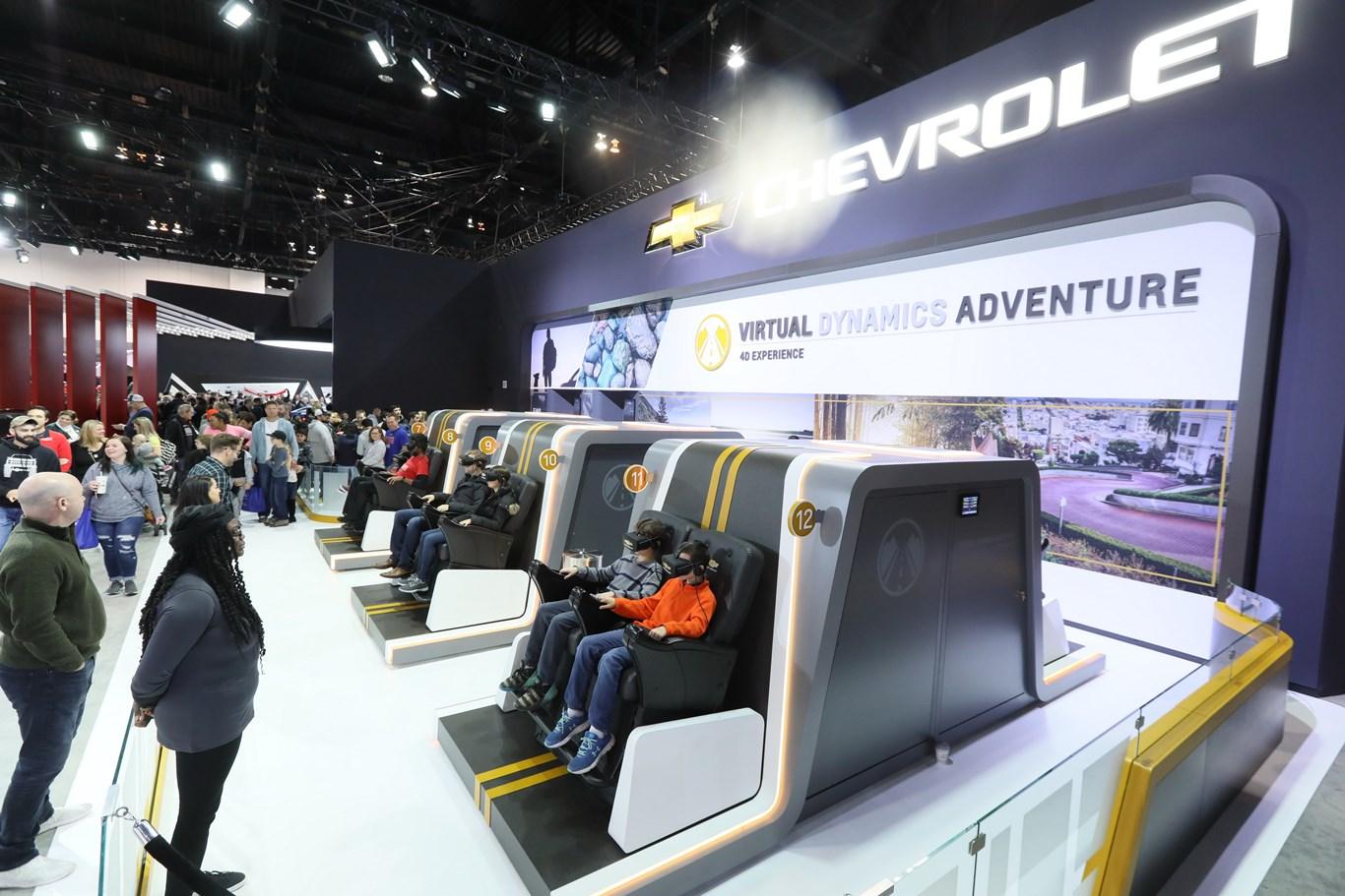 Auto Show Chevrolet 3D Experience