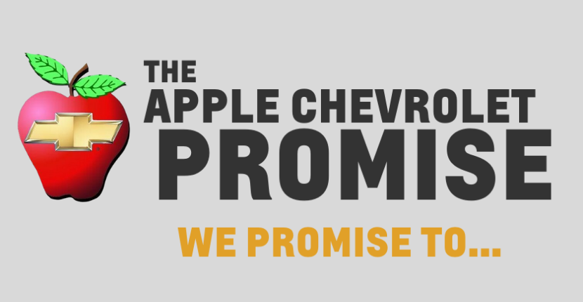 Apple Chevy's Promise To You!