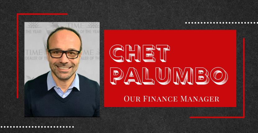 Meet Chet Palumbo, Finance Manager