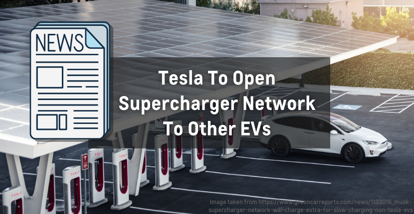 Tesla To Open Supercharger Network To Other EVs