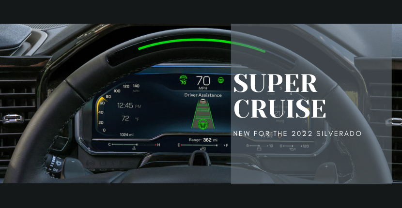 2022 Silverado Is First Chevy To Have Super Cruise